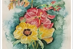 """""""Floral Sunshine"""" by Marian Fanning"""