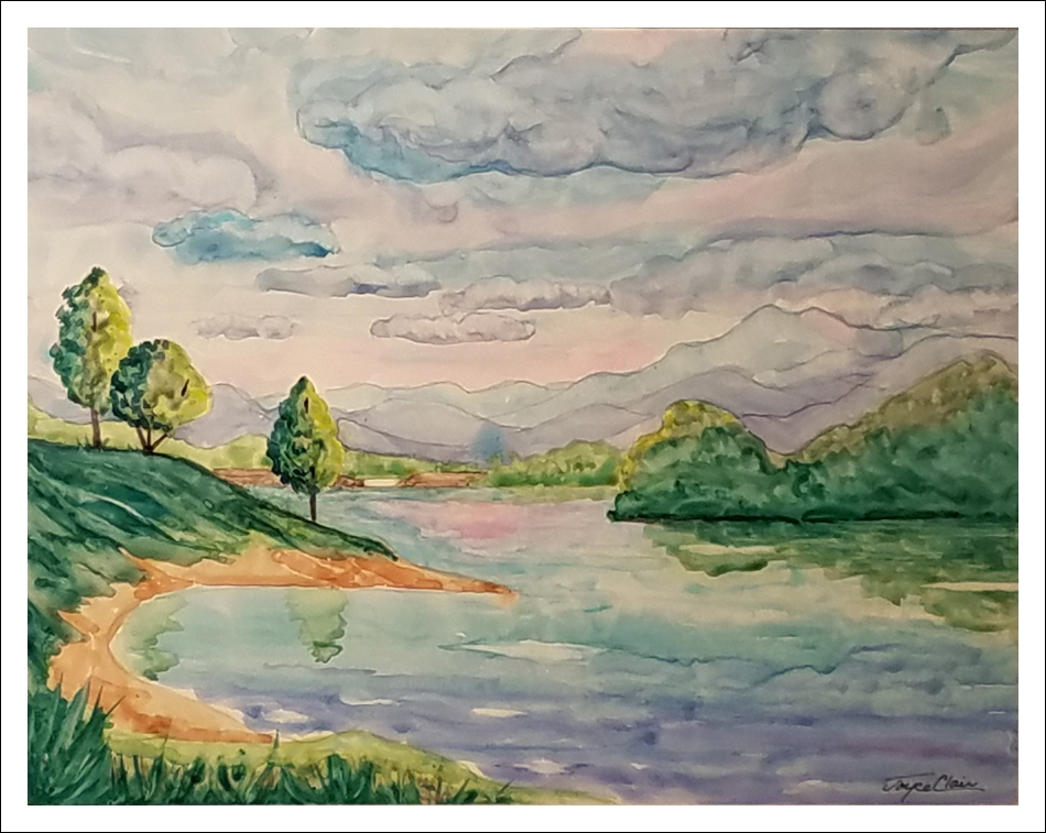 """""""Morning Light at Lake Chatuge"""" by Joyce Clair"""